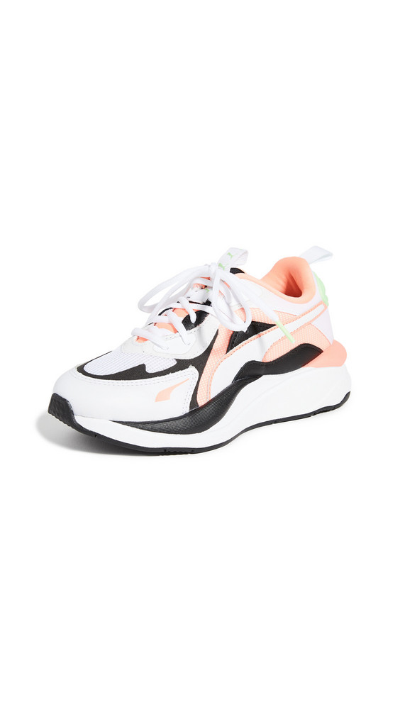 PUMA RS Curve Sneakers in peach / white