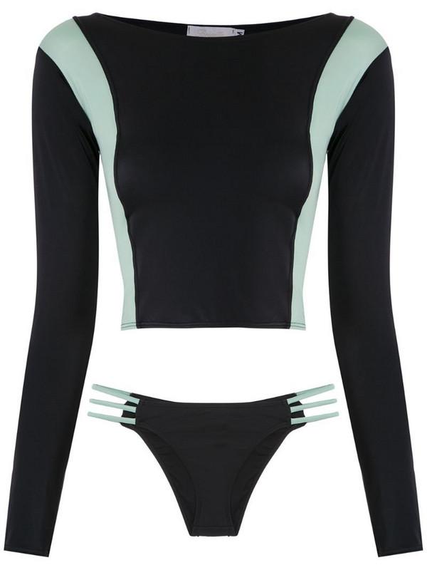 Brigitte long sleeved bikini set