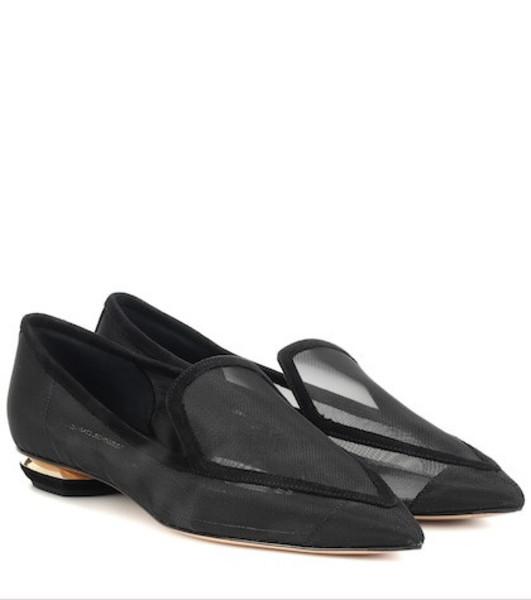 Nicholas Kirkwood Beya mesh loafers in black