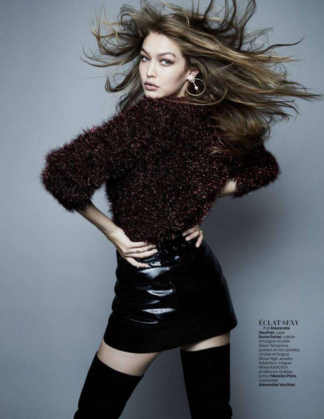 skirt sweater mini skirt black black skirt gigi hadid model editorial celebrity fall outfits