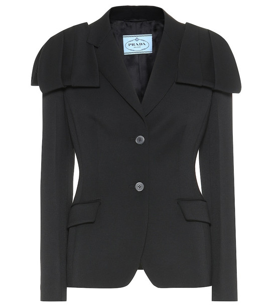 Prada Wool jacket in black