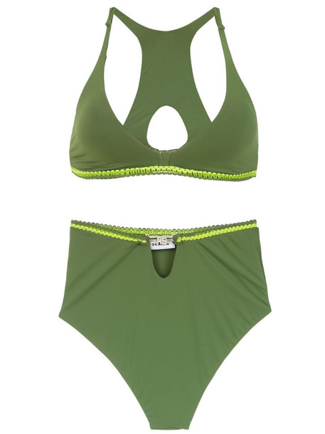 Amir Slama Hot Pants bikini in green
