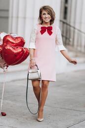 something delightful,blogger,dress,top,jewels,bag,shoes
