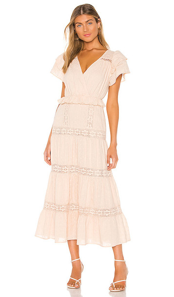 Tularosa Ellianna Dress in Beige