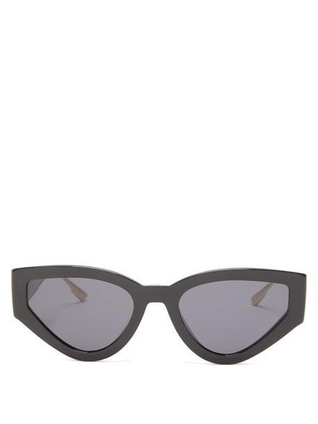 Dior Eyewear - Catstyle Cat Eye Optyl Sunglasses - Womens - Black