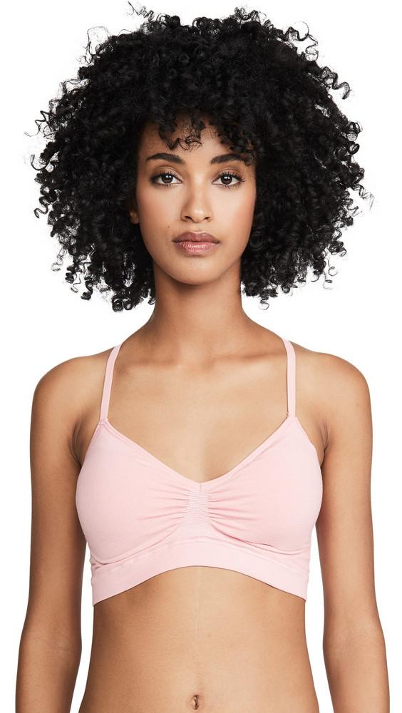Yummie Seamlessly Shaped Emmie T-Back Bralette in blush