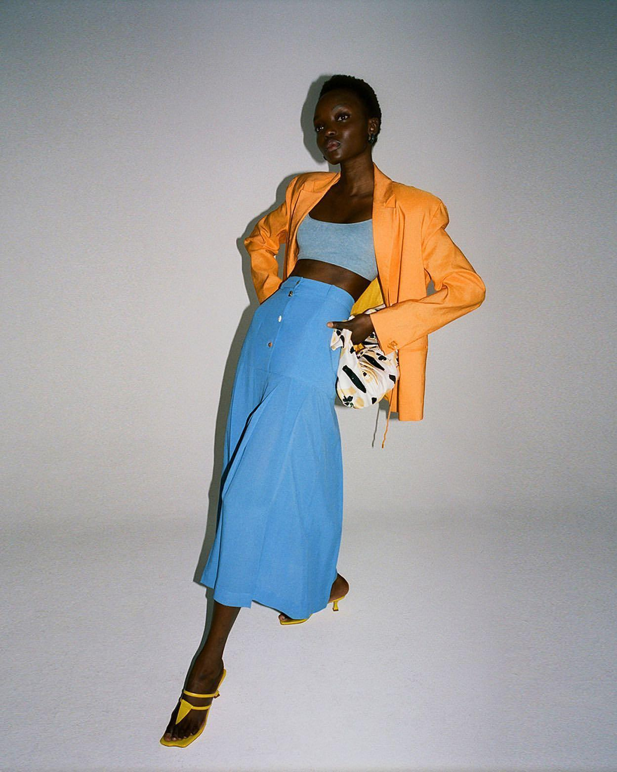 skirt bag jacket