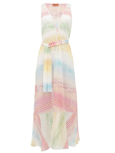Missoni Mare - Zigzag Knitted Cover Up - Womens - Multi