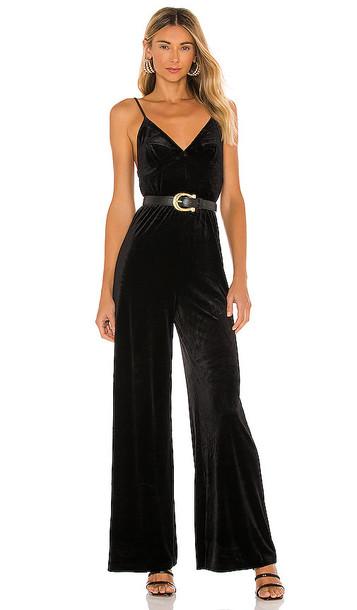 Norma Kamali Slip Jumpsuit in Black
