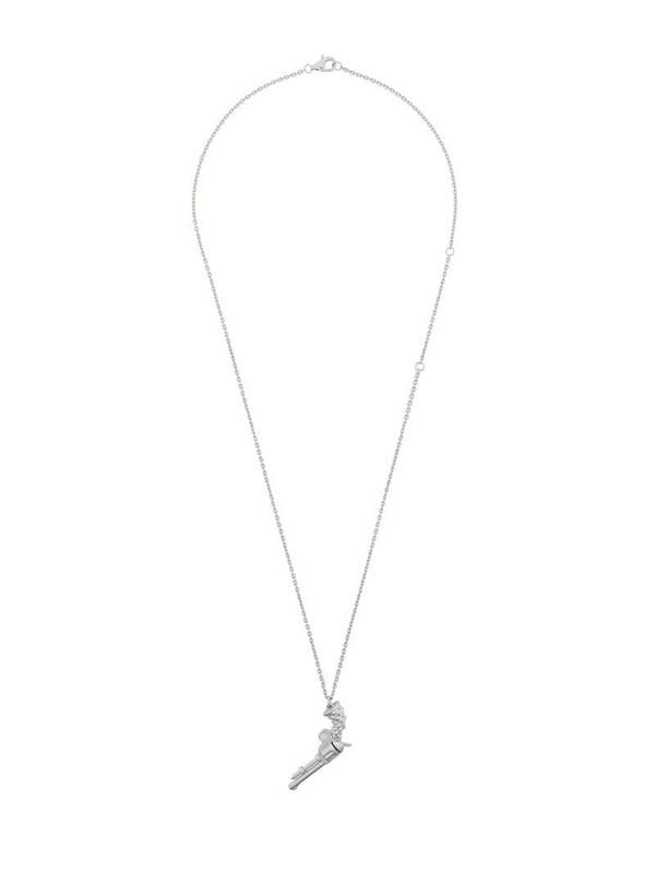 Kasun London gun pendant necklace in metallic