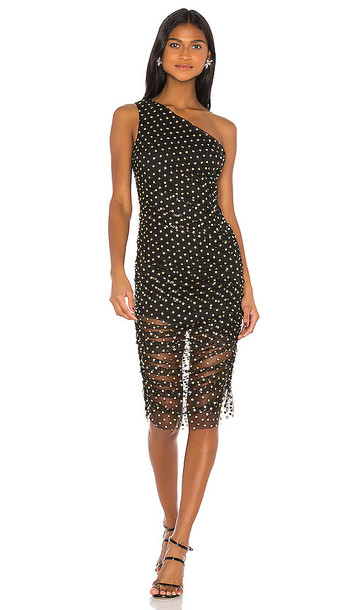 h:ours Shade Dress in Black