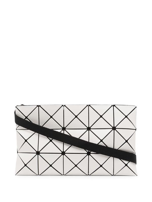 Bao Bao Issey Miyake Lucent Matte crossbody bag in white