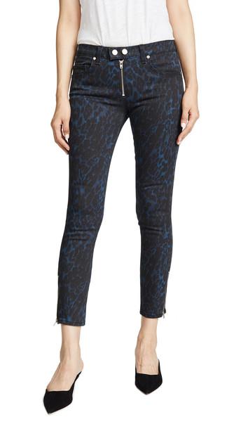 Ramy Brook Printed Kate Jeans in navy / print