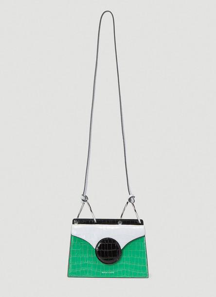Danse Lente Mini Phoebe Shoulder Bag in Green size One Size