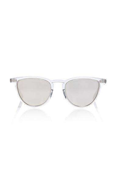 Mr. Leight Runyon Acetate Cat-Eye Sunglasses in silver