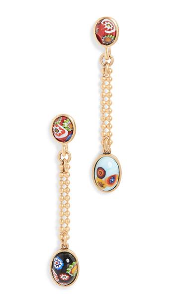 Brinker & Eliza Kenny Earrings in gold / multi