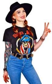 top,bon jovi,bon jovi shirt,band t-shirt,music tshirt,rock band,t-shirt,graphic tee