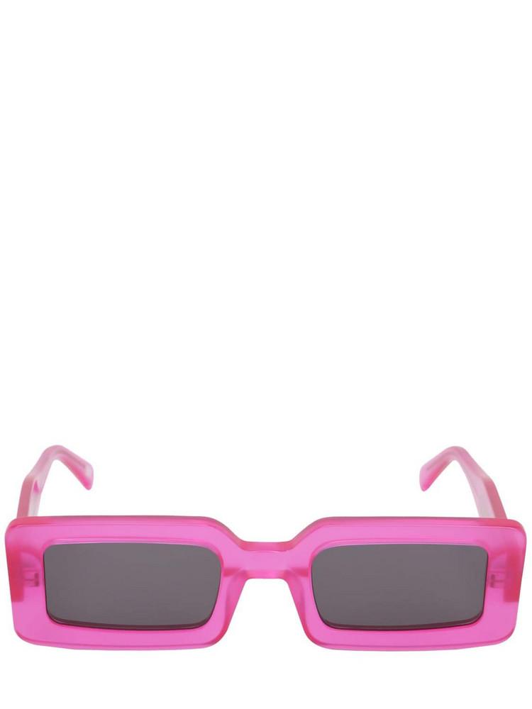CHIMI Neo Shocking Pink Acetate Sunglasses