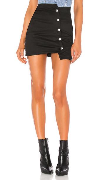 superdown Tova Mini Skirt in Black