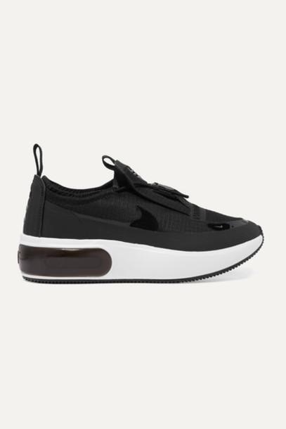 Nike - Air Max Dia Winter Ripstop Sneakers - Black