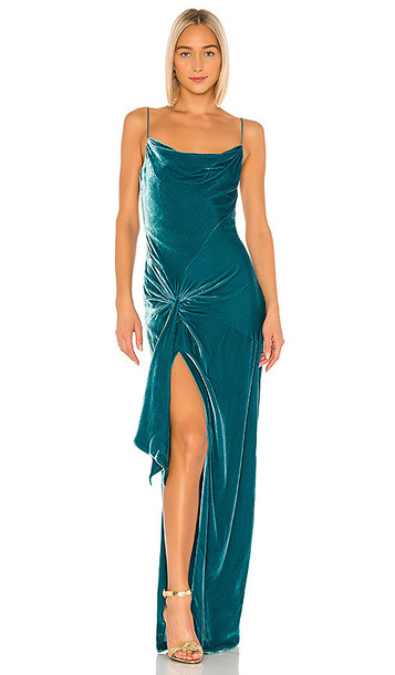 Cinq a Sept Renee Gown in Blue