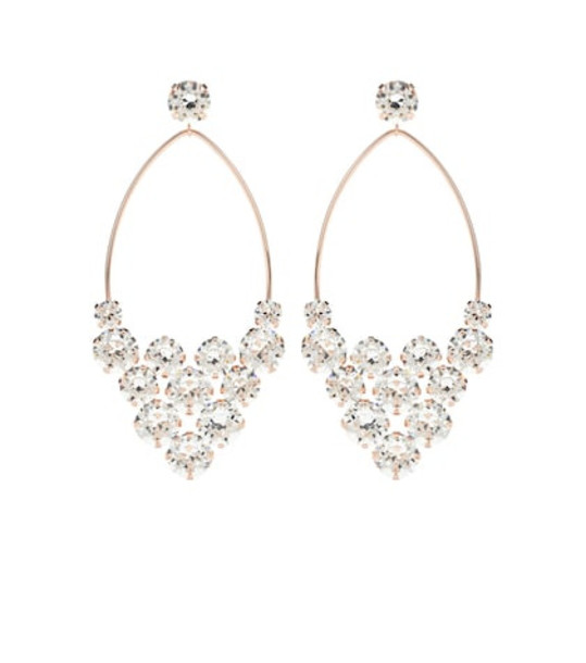 Isabel Marant Crystal embellished earrings in gold