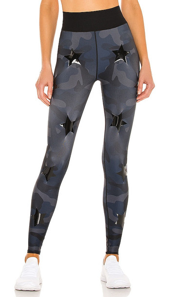 ultracor Ultra High Silk Camo Knockout Legging in Blue