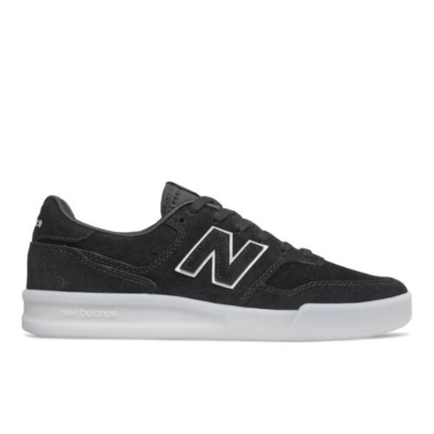 New Balance WRT300v2 Women's Court Classics Shoes - Black/White (WRT300TM)