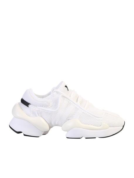 Y-3 Y-3 Kaiwa Pod Mesh Sneakers in white