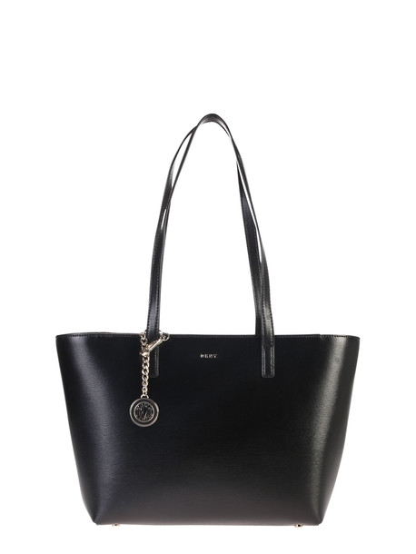 DKNY Bryant M Sutton Leather Bag in black