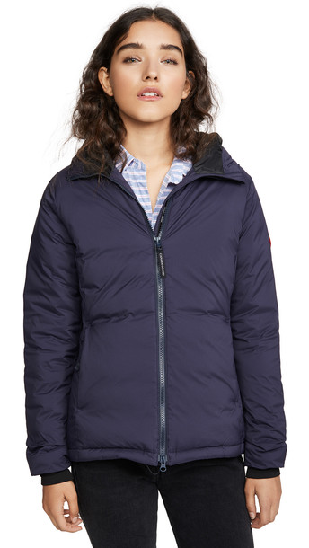 Canada Goose Camp Hoody in navy