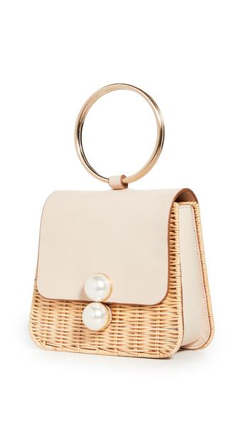 PAMELA MUNSON The Edie Ring Bag in natural