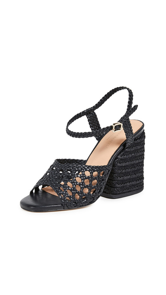Paloma Barcelo Verane Sandals in black
