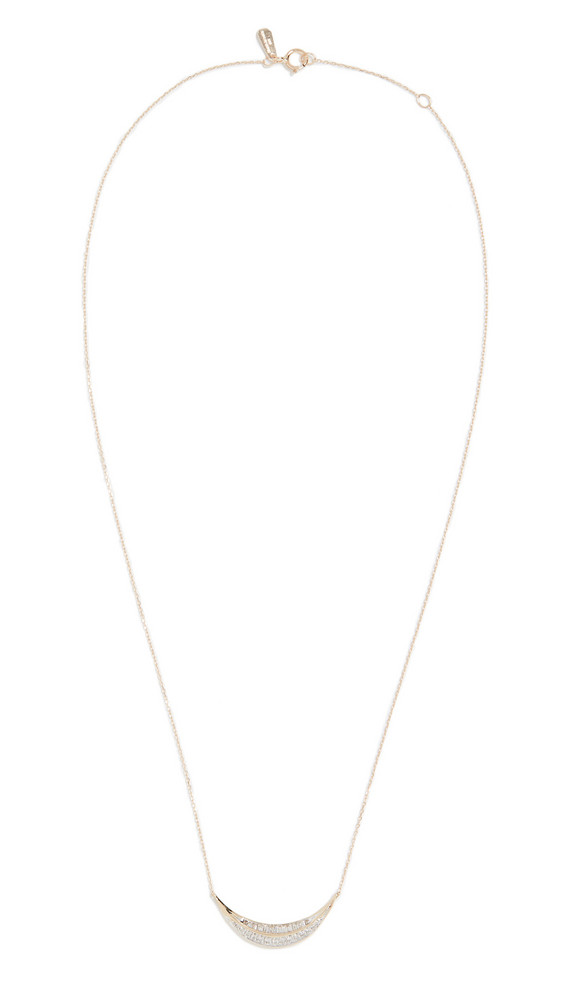 Adina Reyter 14k Large Curve Necklace in gold