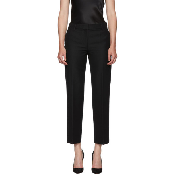 Alexander Wang Black Bootleg Trousers