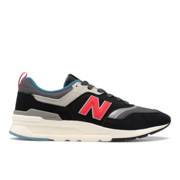 New Balance 997H Men's Classics Shoes - Grey/Red (CM997HAI)