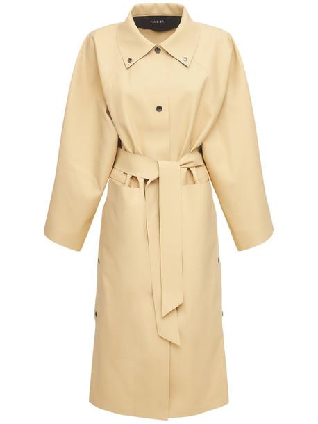 KASSL EDITIONS Kimono Belted Coat in beige