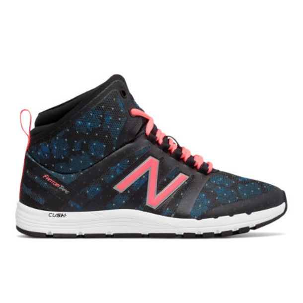New Balance 811 Print Mid-Cut Trainer Women's Cross-Training Shoes - Blue/Black/Pink (WX811MFG)