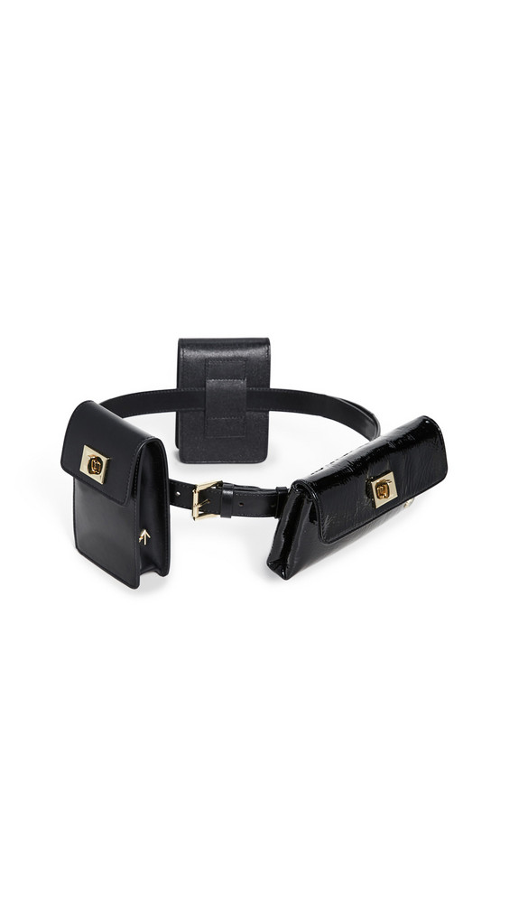 MANU Atelier Tech Belt Bag in black