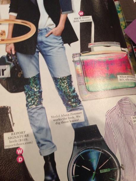 jeans glamour magazine