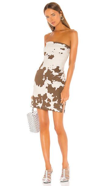 Miaou Lotte Dress in Brown
