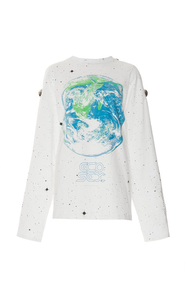 Christopher Kane Ecosexual Dome Long Sleeve Tshirt Size: XS in white