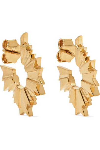 Meadowlark - August Gold-plated Earrings