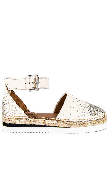 See By Chloe Studded Glyn Espadrille in White