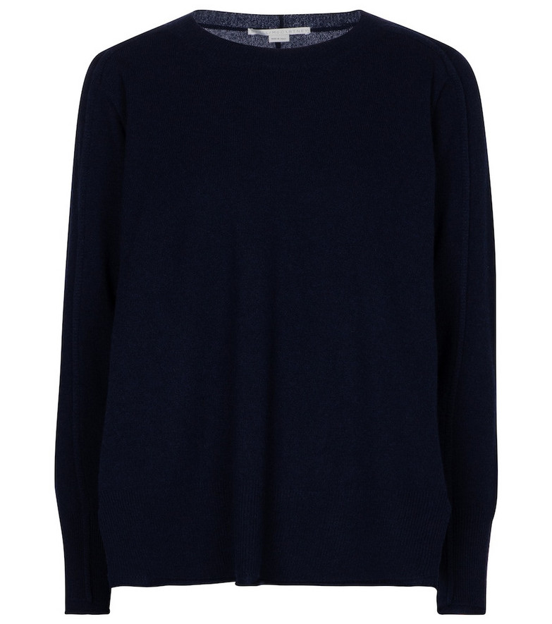 Stella McCartney Cashmere and wool sweater in blue