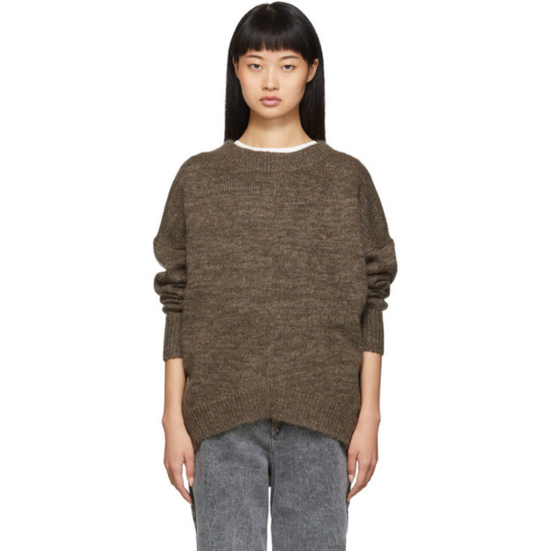 Isabel Marant Etoile Brown Mander Sweater