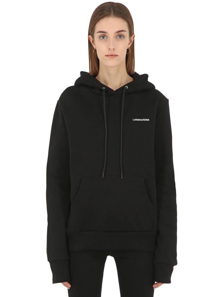 Luisaviaroma Sweatshirt Hoodie in black