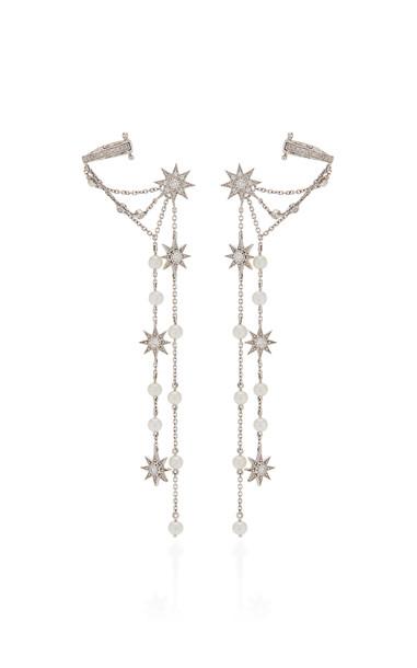 Colette Jewelry Star Dust 18K White Gold Diamond Earrings