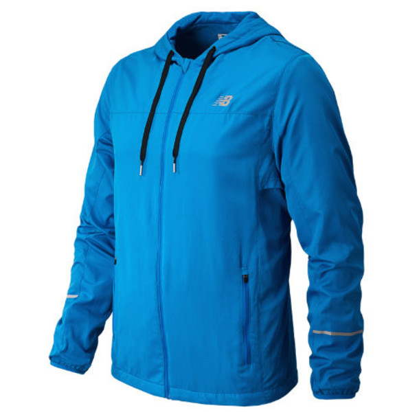 New Balance 3323 Men's Sequence Hooded Jacket - Laser Blue (MRJ3323LSB)