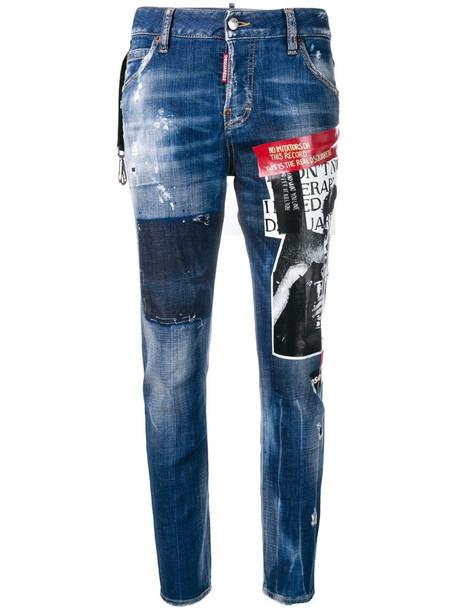 Dsquared2 No Imitators jeans in blue